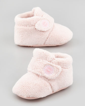 Infant Bixbee Button Bootie, Baby Pink
