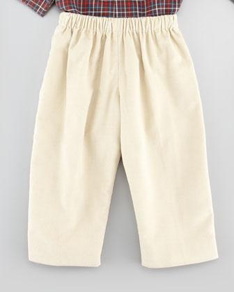 Baby Corduroy Pants, Navy, 18M-2Y