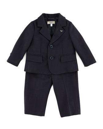 Little Boys' Two-Piece Suit, Blue, 3-24 Months