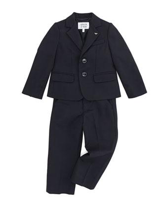 Boys' Two-Piece Suit, Blue, 2Y-8Y
