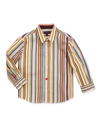 Elrick Classic-Fit Button-Down Shirt, Boys' Sizes 8-10