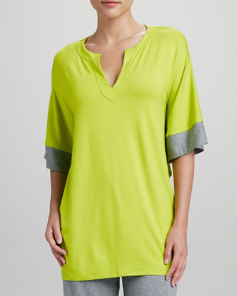Maricar Pajama Top, Lime