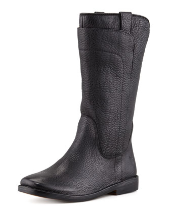 Paige Tall Riding Boot, Black