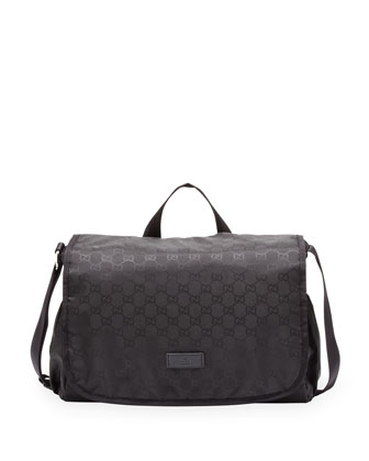 GG Nylon Diaper Bag