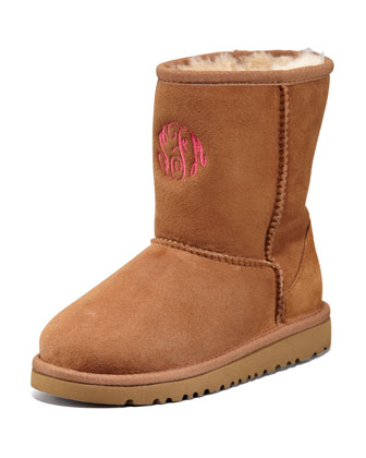 Monogram Classic Short Boot, Chestnut, 13T-4Y