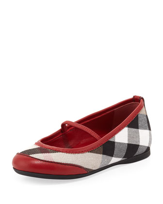 Infant Ballerina Flats, Red