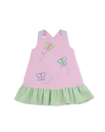 Flyaway Reversible Dress, Sizes 2T-4T