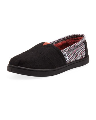 Houndstooth Classic Slip-On, Youth