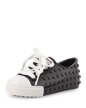 Mini Polibolha II Jelly Sneaker, Black/White