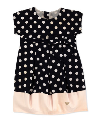 Polka-Dot Bubble Dress, Sizes 2-8