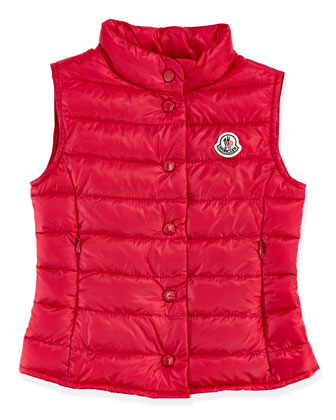 Liane Long Season Packable Vest, Fuchsia, Sizes 2-6