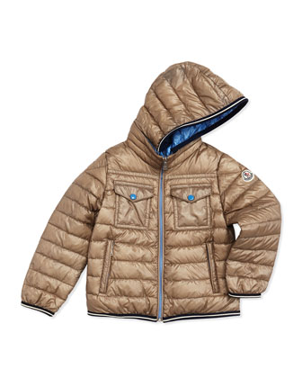 Clovis Long-Season Packable Jacket, Tan, Sizes 2-6