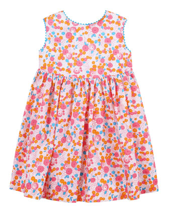 Baby Girls' Casais Sundress, Coral, 12-24 Months