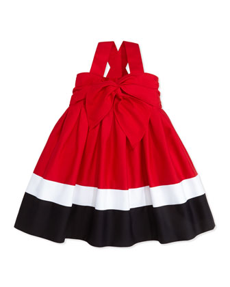 Red, White, and Blue Sun Dress, 2T-3T