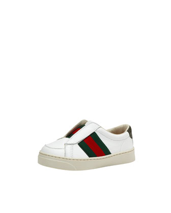 Brooklyn Leather Slip-On Sneaker, Multi