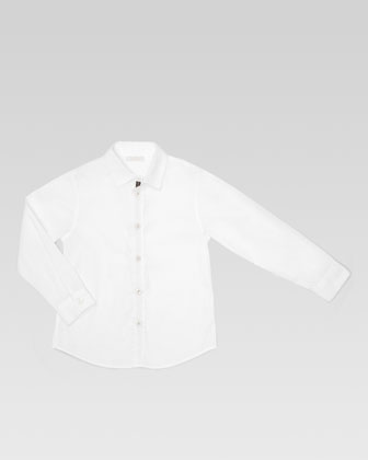 Boys' Button-Down Shirt, Sizes 4-10