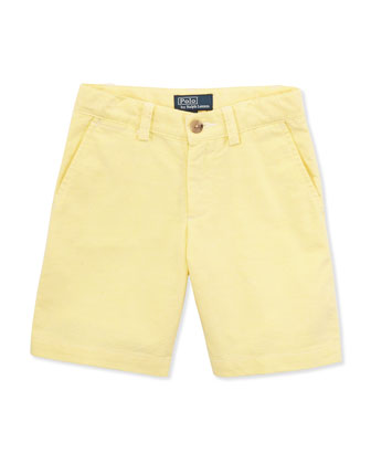 Preston Shorts, Yellow, Sizes 4-7