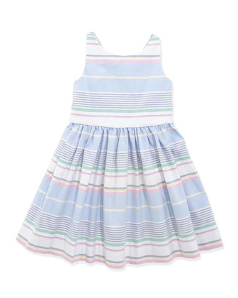Little Run On Oxford Dress, 2T-3T