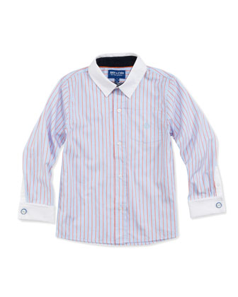 Necessary Cuffness: French-Cuff Dress Shirt, 2T-7
