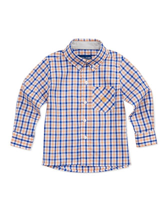 Lord of The Gings Button-Down Shirt, Orange, 2T-7