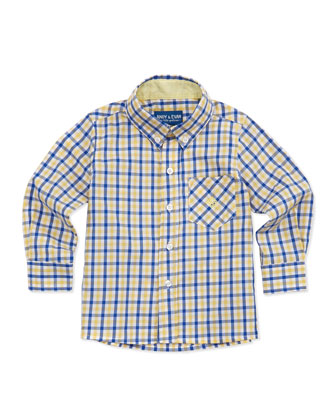 Lord of The Gings: Button-Down Shirt, Yellow, 2T-7