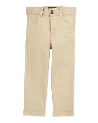 Oh-What-A-Twill Dress Pants, Beige, 2T-7