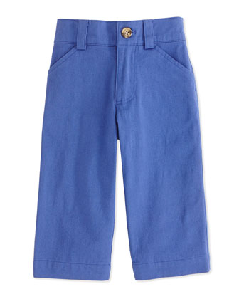 Oh-What-A-Twill Dress Pants, Blue, 2T-7
