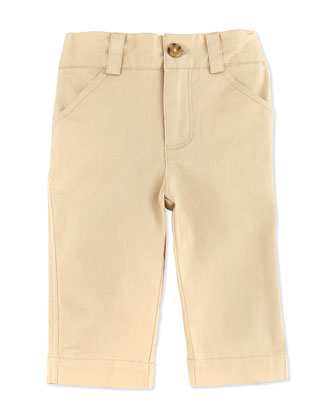Oh-What-A-Twill: Dress Pants, Khaki, 3-24 Months