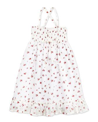 Jasmine Smocked Maxi Dress, 2Y-10Y