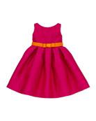 Elle Box-Pleat Party Dress, Sizes 2-6