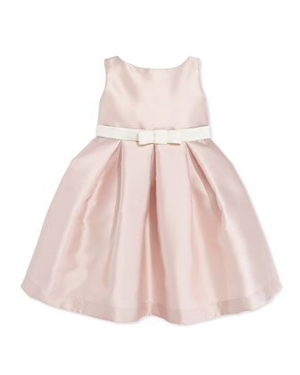 Elle Box-Pleat Party Dress, Pink, Sizes 2-6
