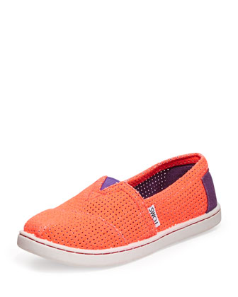 Freetown Two-Tone Mesh Slip-On, Youth