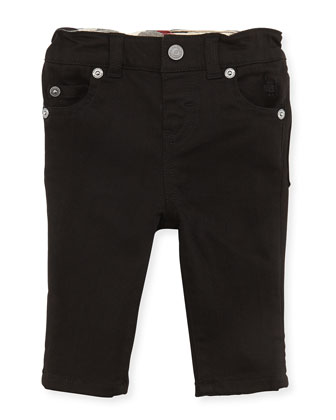 5-Pocket Jeans, Black, Girls' 3M-3Y
