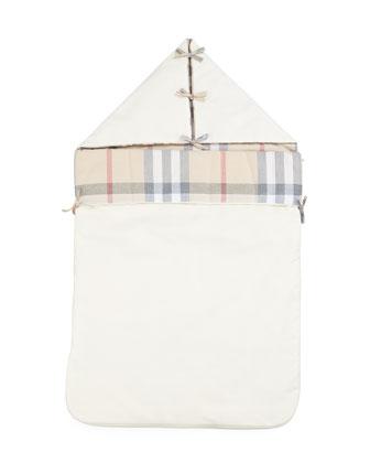 Hooded Sleeping Bag, Cream