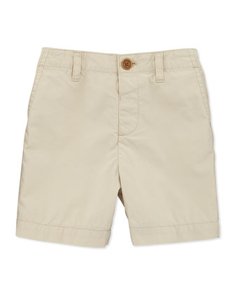 Baby & Toddler Boys' Chino Shorts, Taupe, 3M-2Y
