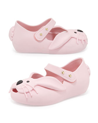Ultragirl Rabbit Jelly Shoe, Pink, Girls' Sizes 5-10