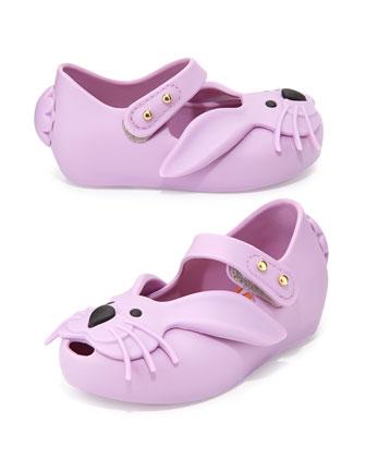 Ultragirl Rabbit Jelly Shoe, Purple
