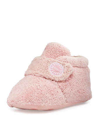 Bixbee Terry Cloth Bootie, Pink