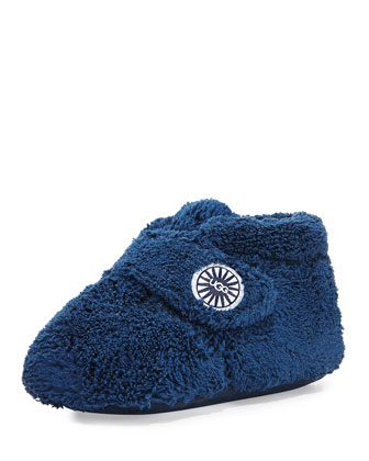 Bixbee Terry Cloth Bootie, Navy