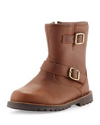 Kids' Harwell Boot with Buckles, Brown