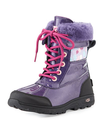 Kids' Butte II Snowboot, Purple, 13T-6Y