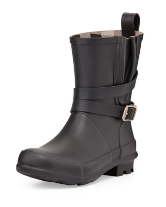 Ankle-Strap Rain Boot, Kids' 10T-2.5Y