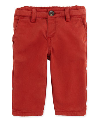 Chino Straight-Leg Pants, Boys' 3M-3T
