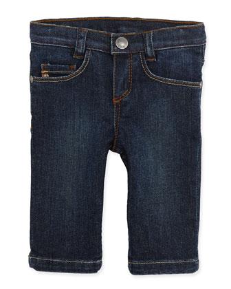 Straight-Leg Denim Jeans, Boys' 3M-3T