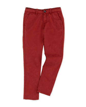Slim Chino Pants, Sizes 8-12