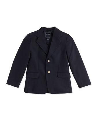 Wool 2-Button Blazer, Wool, 2Y-10Y