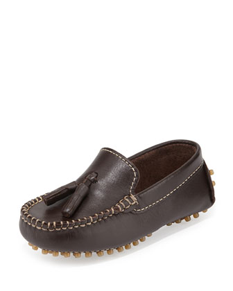 Leather Driver Moccasin, Boys' EU20-38