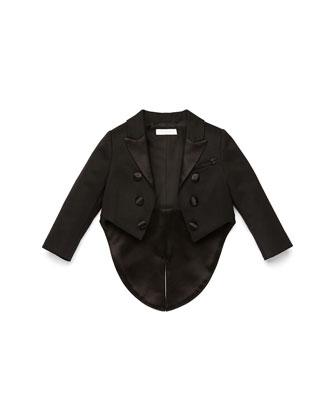 Tailcoat Tuxedo Jacket, Black, 3-36 Months