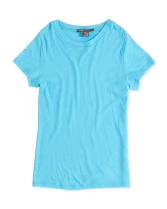 Girls' Favorite Tee, Blue, 4-6X