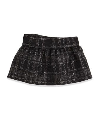 Lisbeth Jupe Tweed Bow Skirt, Sizes 2-6